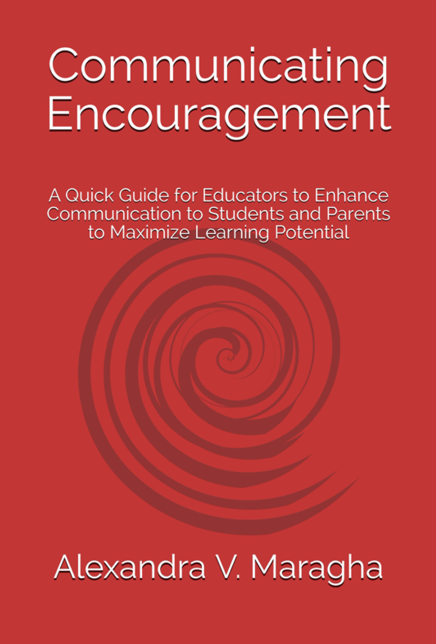 communicating encouragement cover front