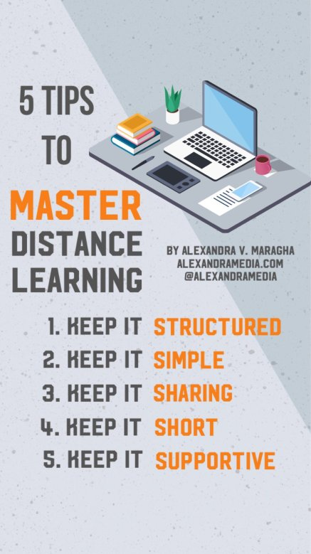 5 Tips to Mastering Distance Learning